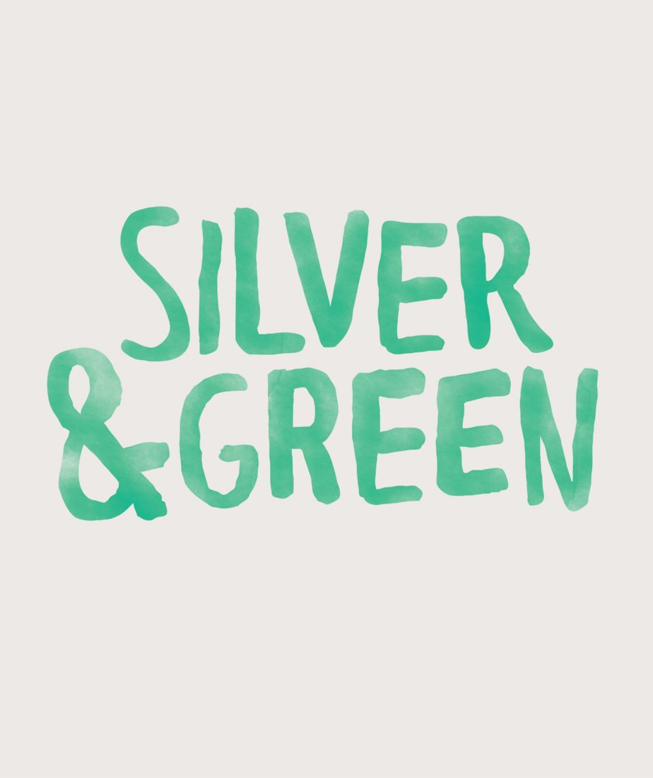 Silver and Green