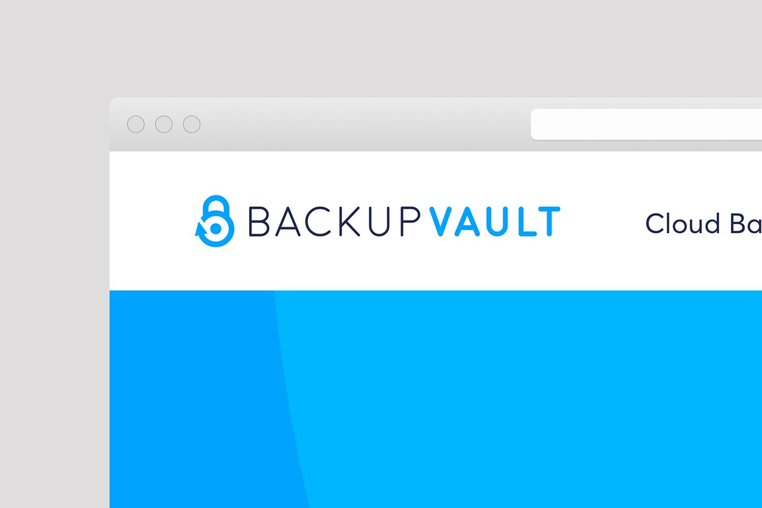 BackupVault Chooses Salad for Brand & Website Renovation