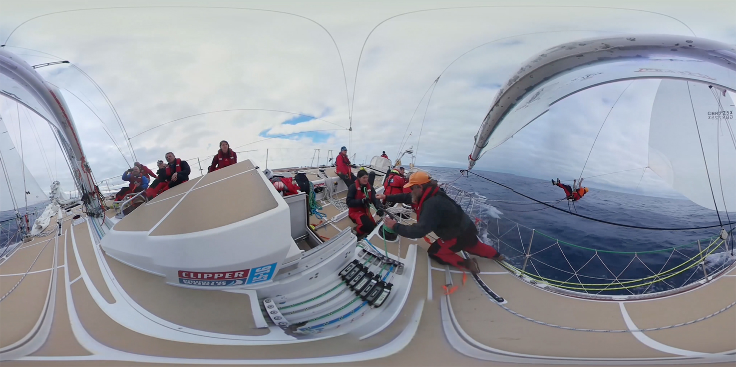 Clipper Race Virtual Reality