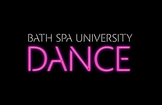 A motion ident for Bath Spa University Dance