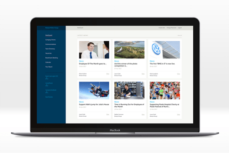 Creating a Digital Platform for Breeze to Improve Internal Communications