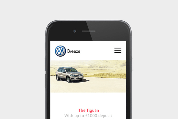Increasing vehicle enquiries by 350% for Breeze Volkswagen