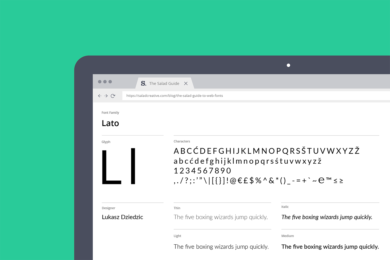 A guide to fonts and licenses